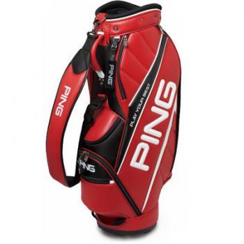 【飛揚高爾夫】Ping 5孔桿袋(CB-U191) ,紅 #PI19A510603 (JV) 球袋