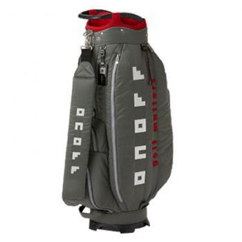 【飛揚高爾夫】ONOFF Caddie Bag 9吋 #OB3619-08 ,灰 球袋