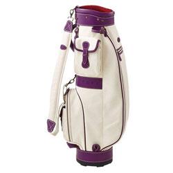 【飛揚高爾夫】ONOFF Caddie Bag 8吋 #OB1815 ,白/紫 球袋