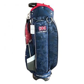 【飛揚高爾夫】Lite TA-5668 Cart Bag 9吋 ,迷彩藍 球袋