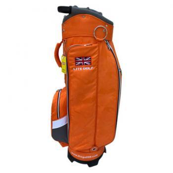 【飛揚高爾夫】Lite TA-5668 Cart Bag 9吋 ,迷彩橘 球袋