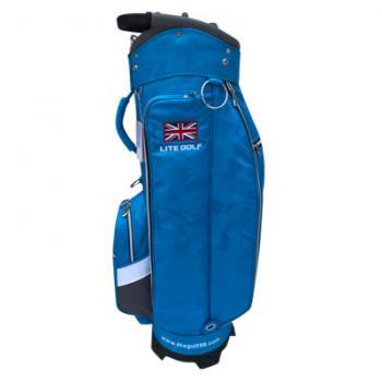 【飛揚高爾夫】 Lite TA-5668 Cart Bag 9吋 ,迷彩淡藍 球袋
